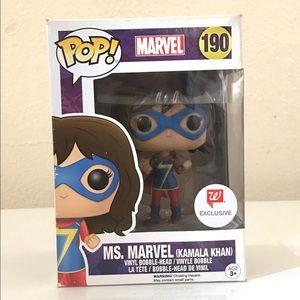 Marvel Comics Ms. Marvel Funko Pop! Figure #190